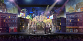 Sets, projection mapping, show design