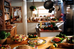Kitchen designed for a Crisco Oil Commercial