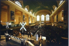 GRAND CENTRAL TERMINAL RE-DEDICATION CEREMONY -WIDE-REVERSE