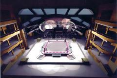 3-D rendering of Thunderbox set